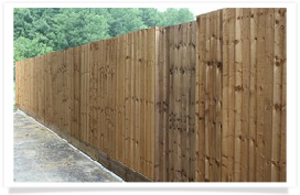 Timber Closeboard Fence